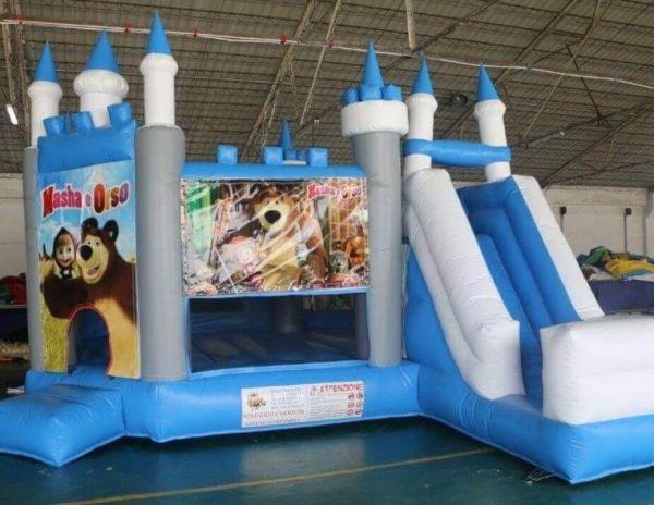 castello gonfiabile usato per bambini