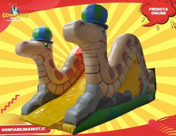 scivolo gonfiabile serpenti