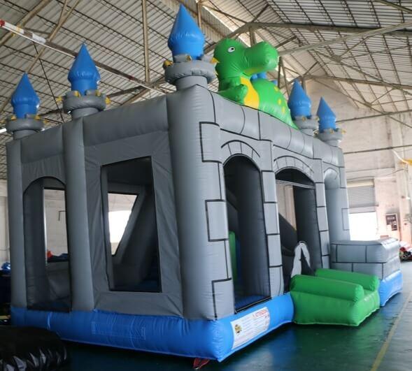 castello gonfiabile principesse