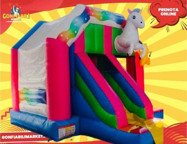 gioco gonfiabile unicorno